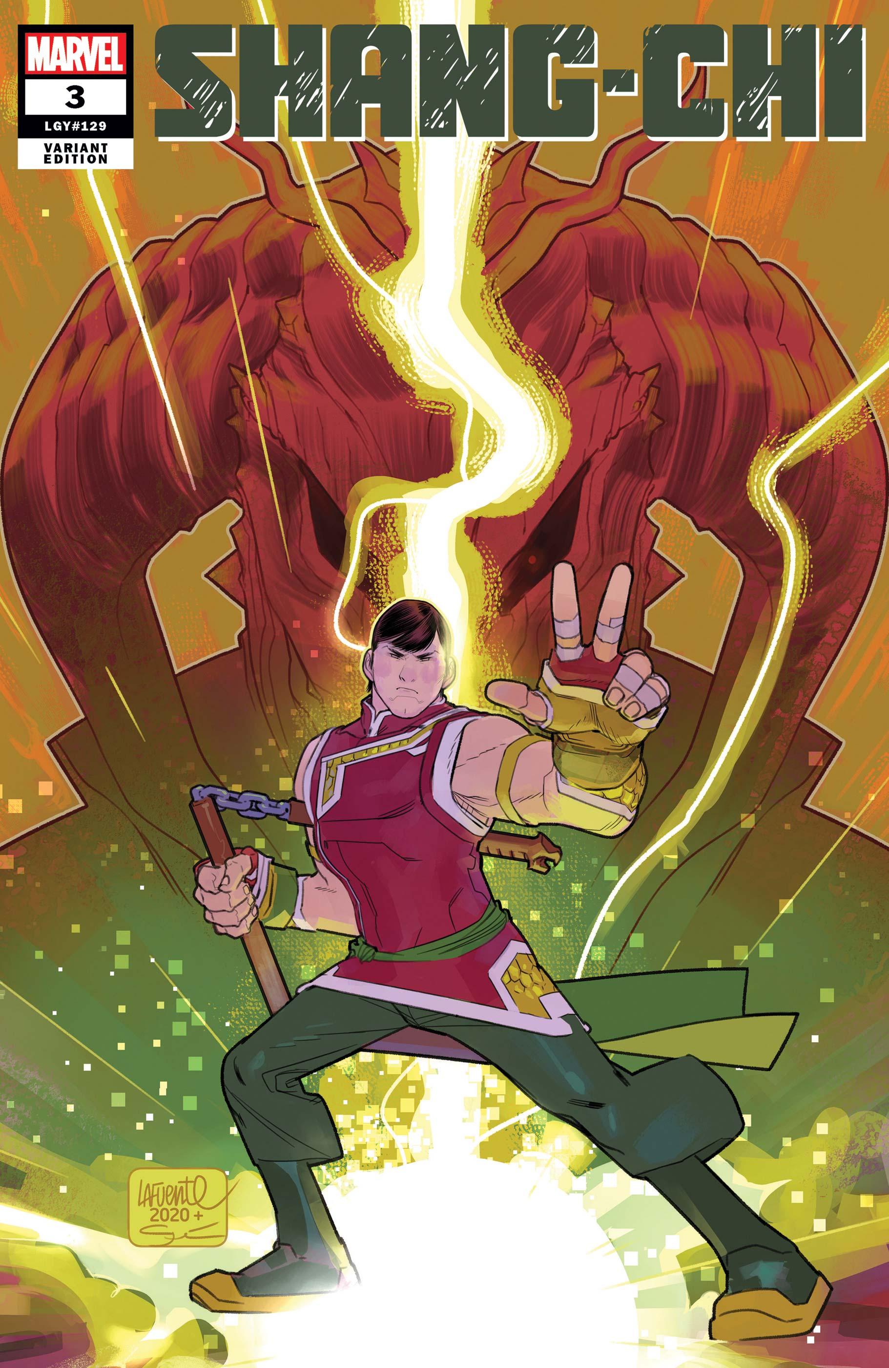 Shang-Chi (2021) #3 (Variant)