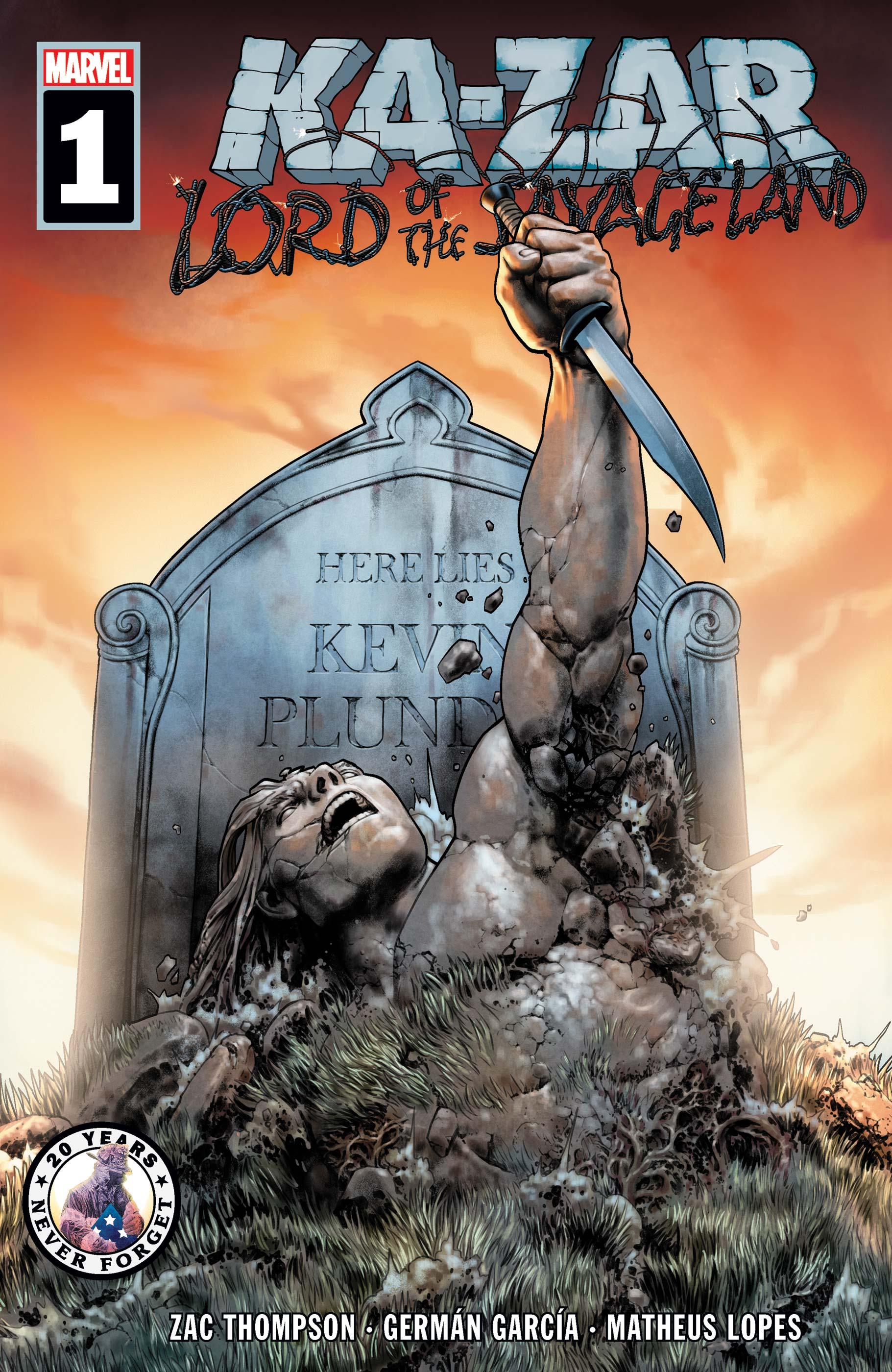 Ka-Zar Lord of the Savage Land (2021) #1