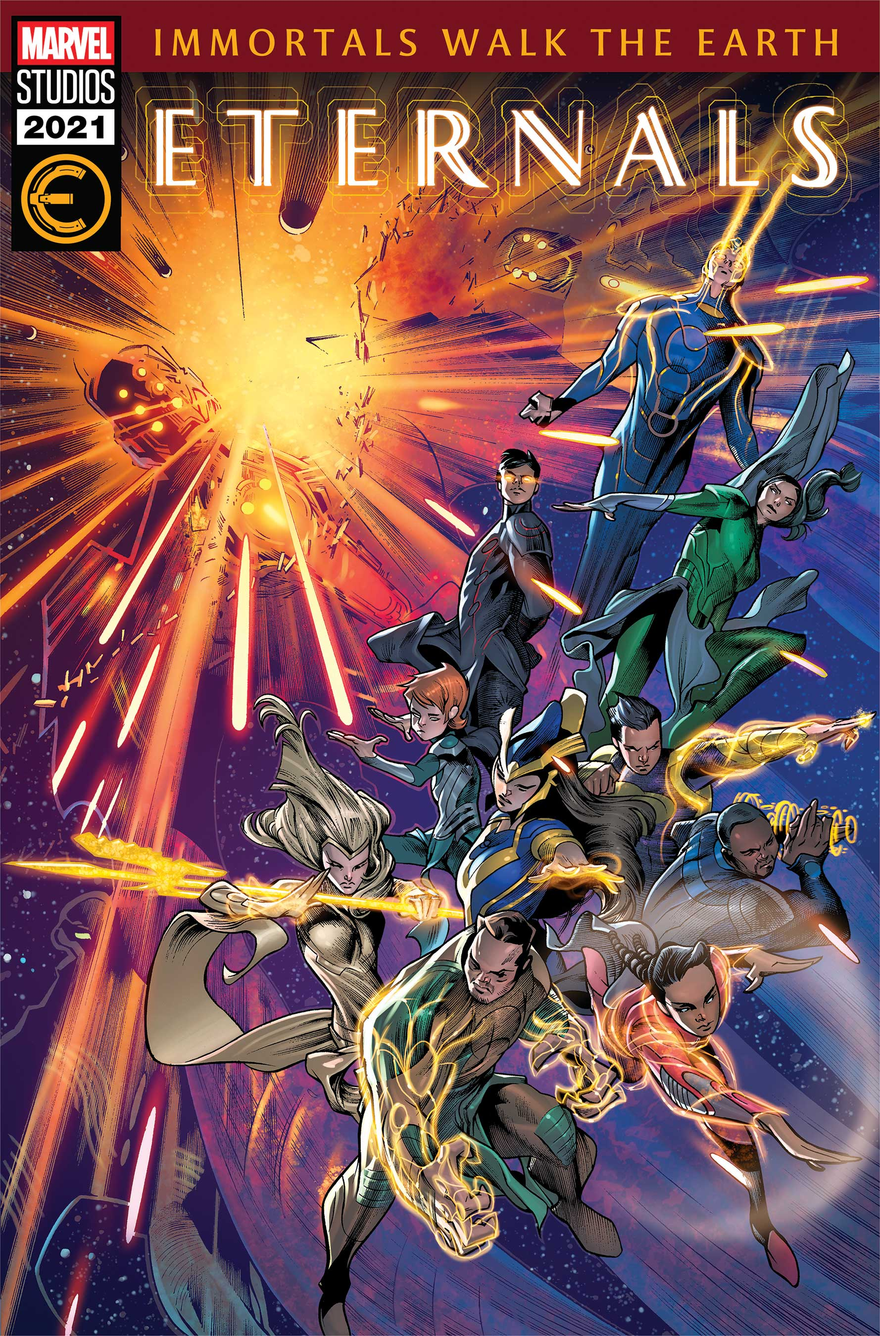 Eternals (2021) #7 (Variant)