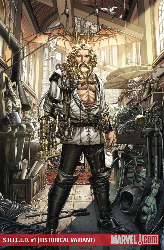 S.H.I.E.L.D. (2010) #1 (HISTORICAL VARIANT)