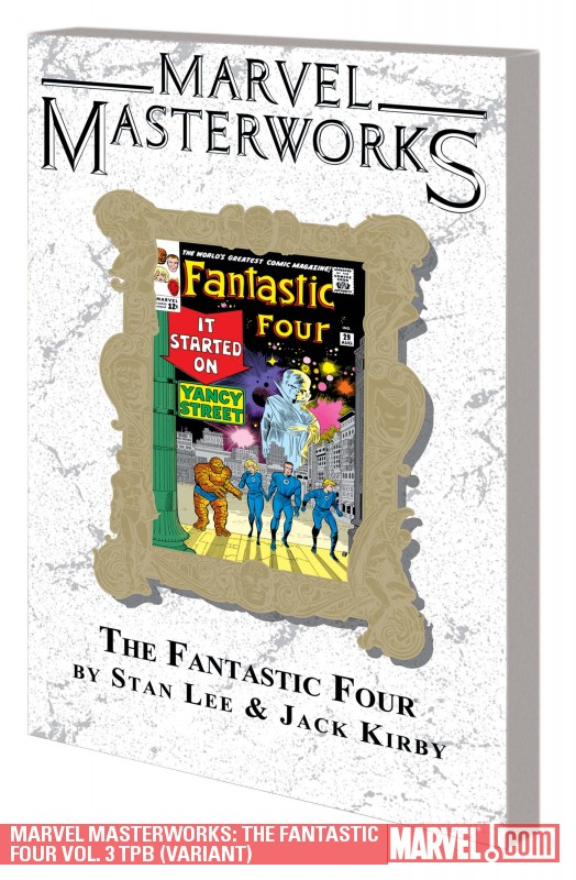 Marvel Masterworks: The Fantastic Four Vol. 3 (Trade Paperback)