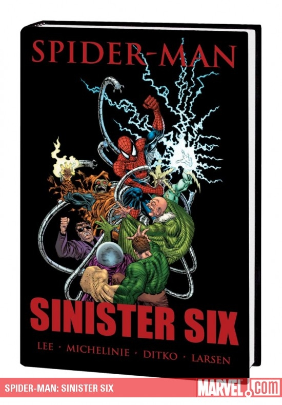 Spider-Man: Sinister Six (Hardcover)