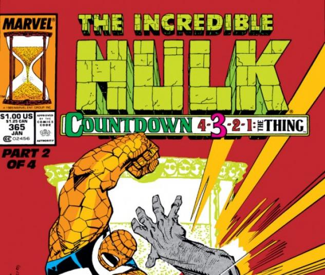 INCREDIBLE HULK (2009) #365 COVER
