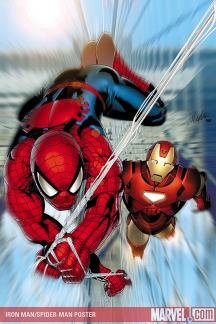 Iron Man/Spider-Man Poster (2008) #1