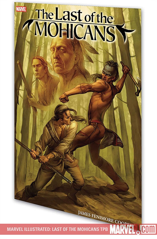 Marvel Illustrated: Last of the Mohicans (Graphic Novel)