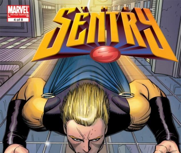 SENTRY (2007) #4 COVER