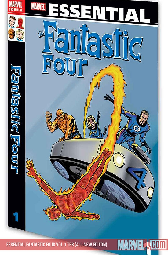 Essential Fantastic Four Vol. 1 (Trade Paperback)