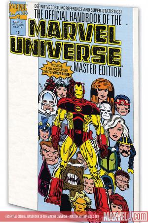 Essential Official Handbook of the Marvel Universe - Master Edition Vol. 2 (Trade Paperback)