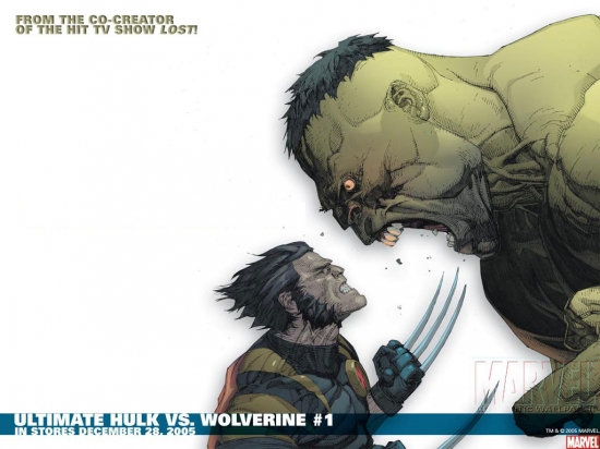 Ultimate Wolverine Vs. Hulk (2005) #1 Wallpaper