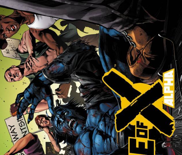 Age of X Alpha #1 Conrad 2nd Printing