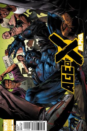 Age of X: Alpha (2010) #1 (Conrad 2nd Printing Variant)