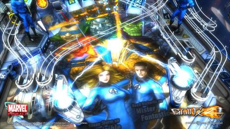 Marvel Pinball Fantastic Four Table DLC