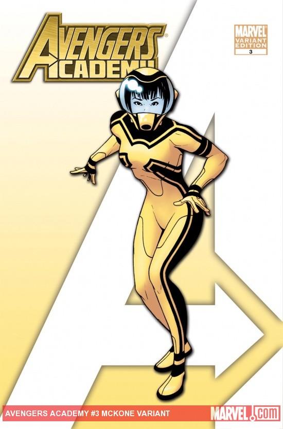 Avengers Academy (2010) #3 (MCKONE VARIANT)