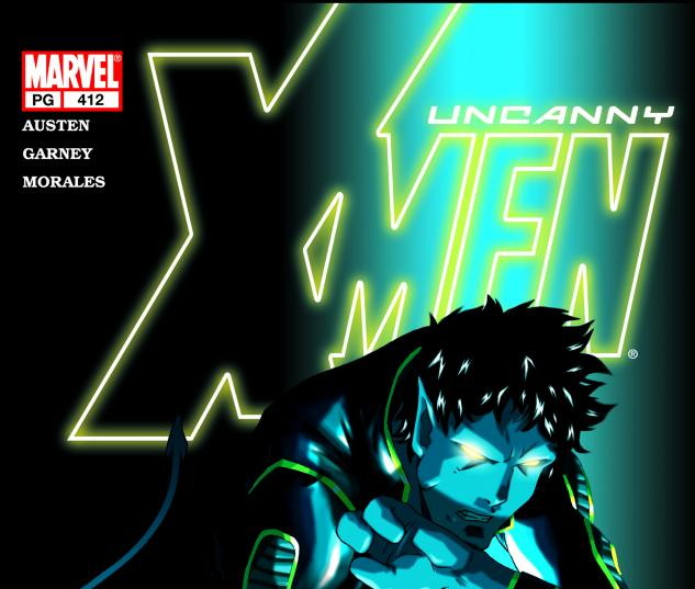 Uncanny X-Men #412 Cover