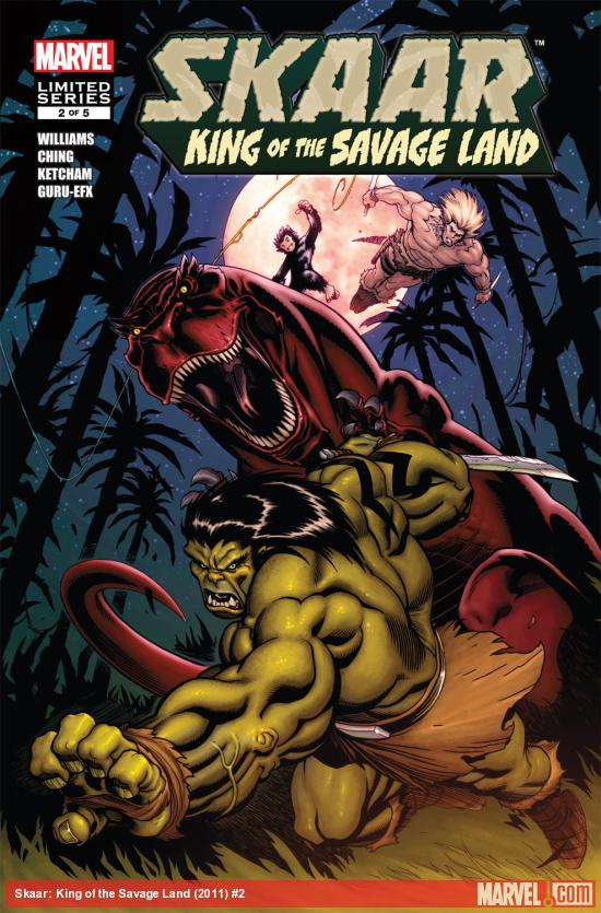 Skaar: King of the Savage Land (2011) #2