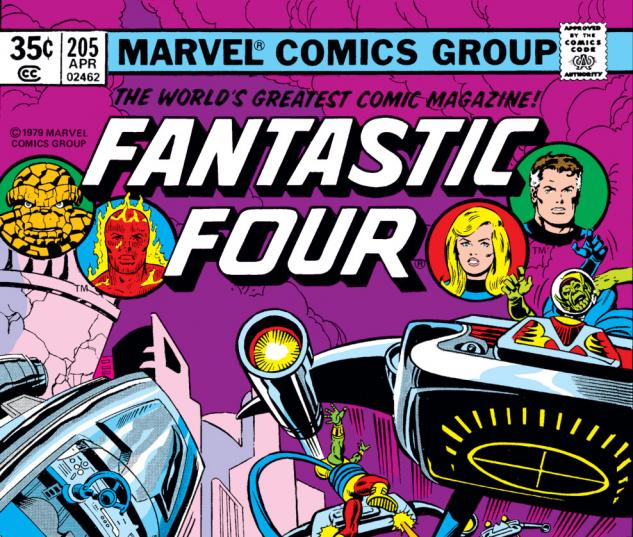 Fantastic Four (1961) #205 Cover