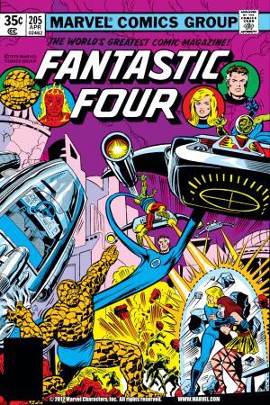 Fantastic Four (1961) #205