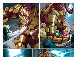 Captain America (2012) #3 preview art by John Romita Jr., Klaus Janson & Dean White