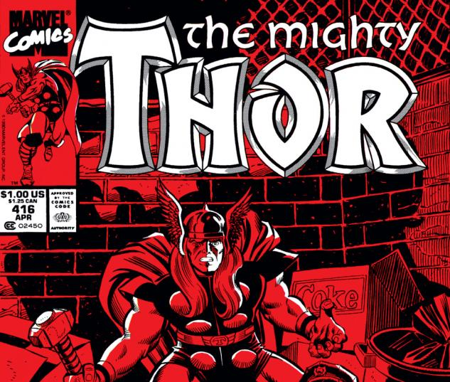 Thor (1966) #416 Cover