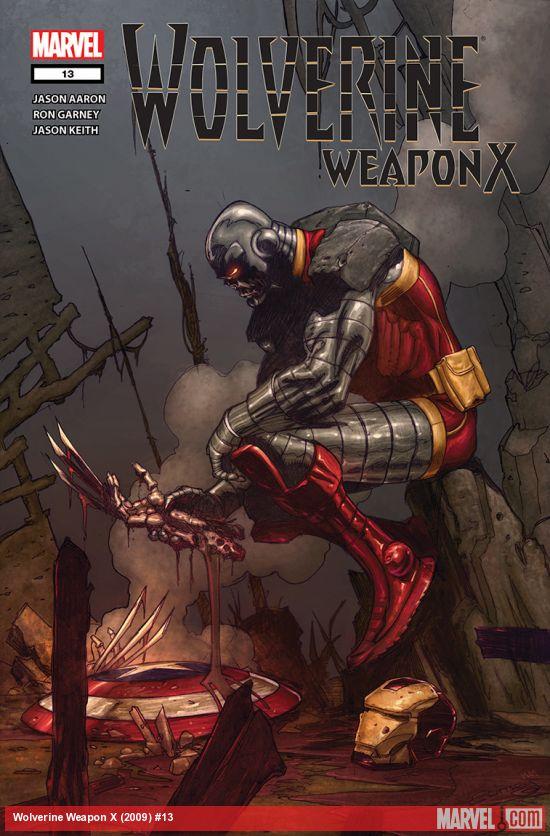 Wolverine Weapon X (2009) #13