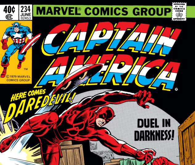 Captain America (1968) #234 Cover