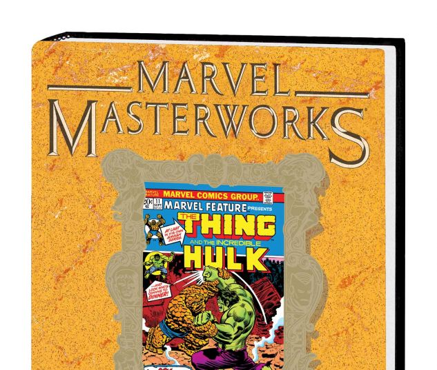 MARVEL MASTERWORKS: MARVEL TWO-IN-ONE VOL. 1 HC VARIANT (DM ONLY)