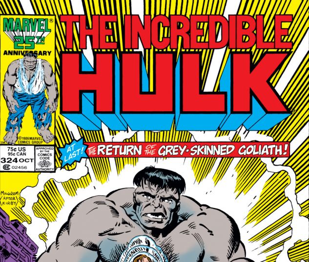 Incredible Hulk (1962) #324 Cover