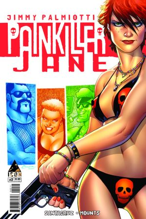 Painkiller Jane: The Price of Freedom (2013) #2