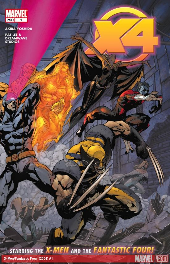 X-Men/Fantastic Four (2004) #1