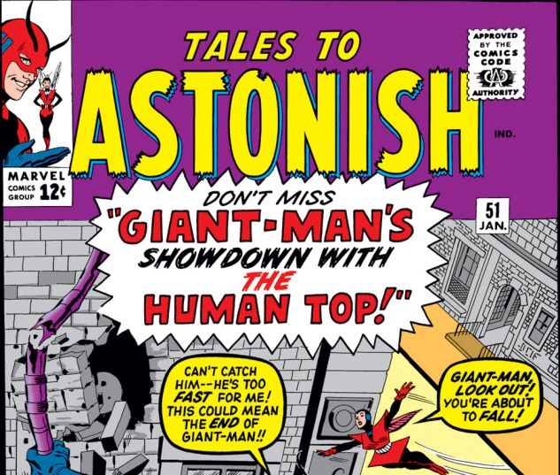 Tales to Astonish (1959) #51 Cover