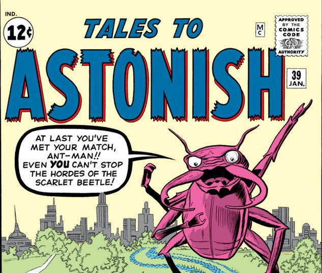 Tales to Astonish (1959) #39 Cover