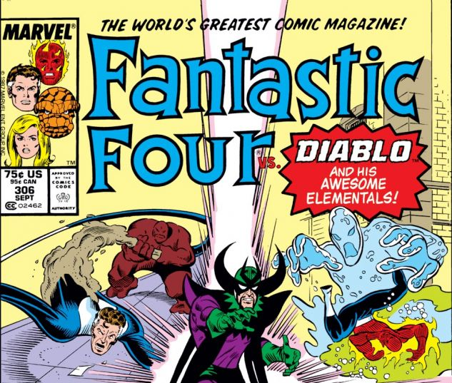 Fantastic Four (1961) #306 Cover
