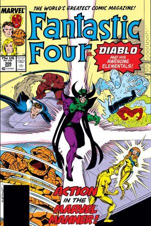 Fantastic Four  #306