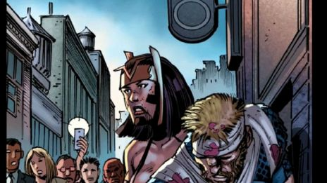 Marvel AR: Captain America #11 Cover Recap