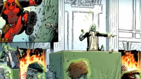 Marvel AR: Dead Presidents Guide