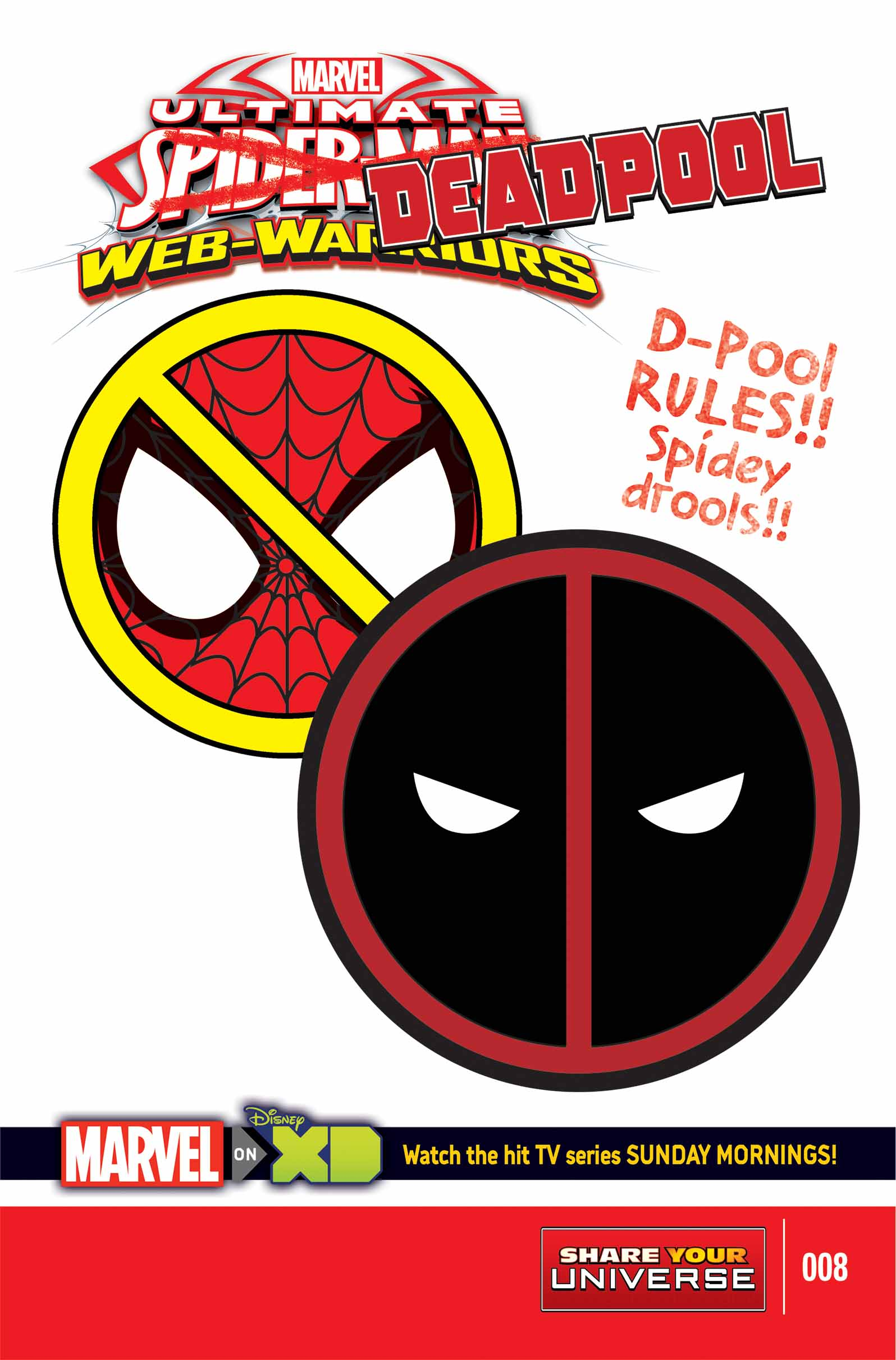 MARVEL UNIVERSE ULTIMATE SPIDER-MAN: WEB WARRIORS (2014) #8