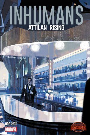 Inhumans: Attilan Rising #3  (MALEEV LANDSCAPE WRAPAROUND VARIANT )