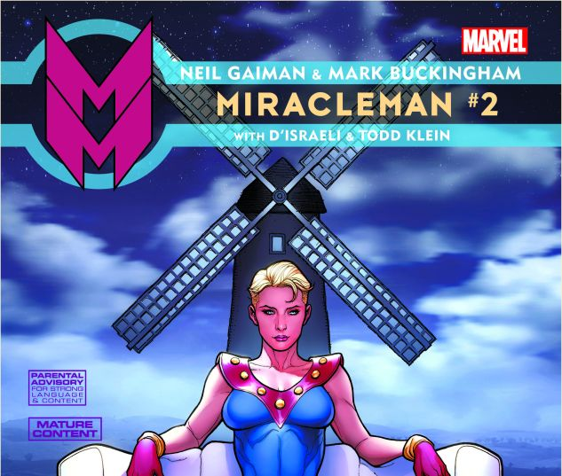 MIRACLEMAN BY GAIMAN & BUCKINGHAM 2 CHO VARIANT (POLYBAGGED)