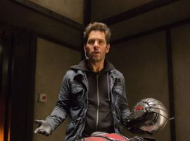 Ant-Man Paul Rudd training