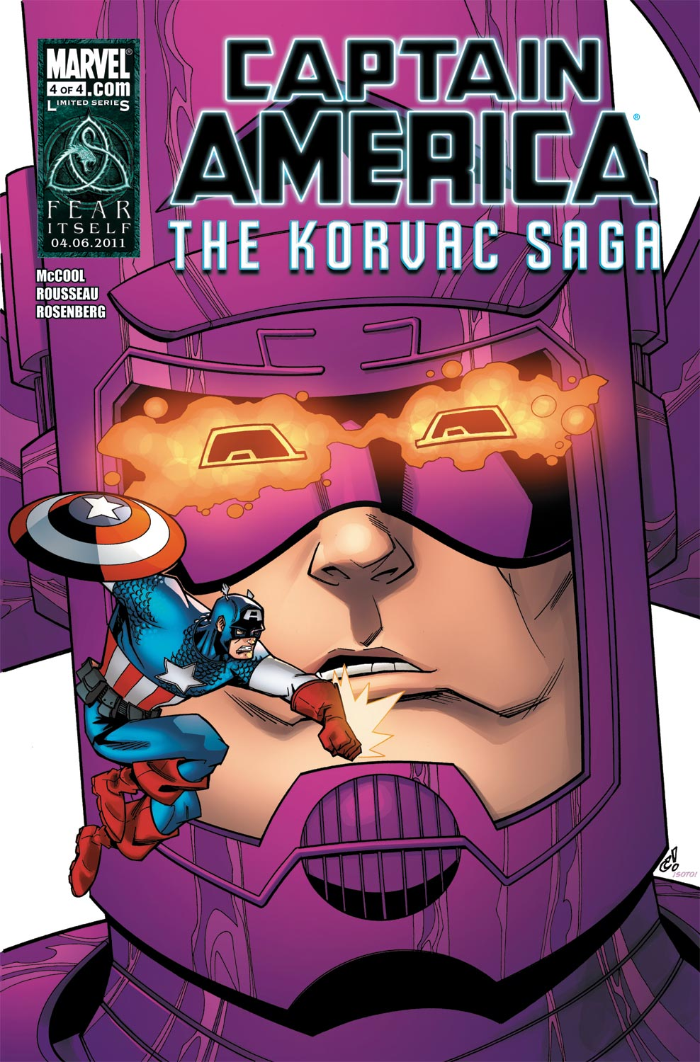 Captain America & the Korvac Saga (2010) #4