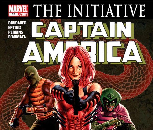 CAPTAIN AMERICA (2004) #28 Cover