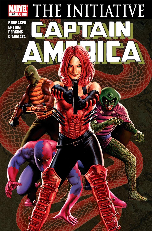 Captain America (2004) #28