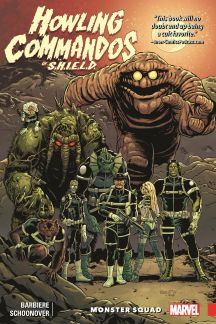 Howling Commandos of S.H.I.E.L.D.: Monster Squad (Trade Paperback)