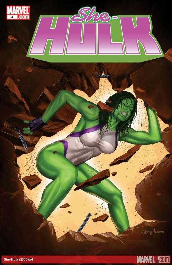 She-Hulk (2005) #4