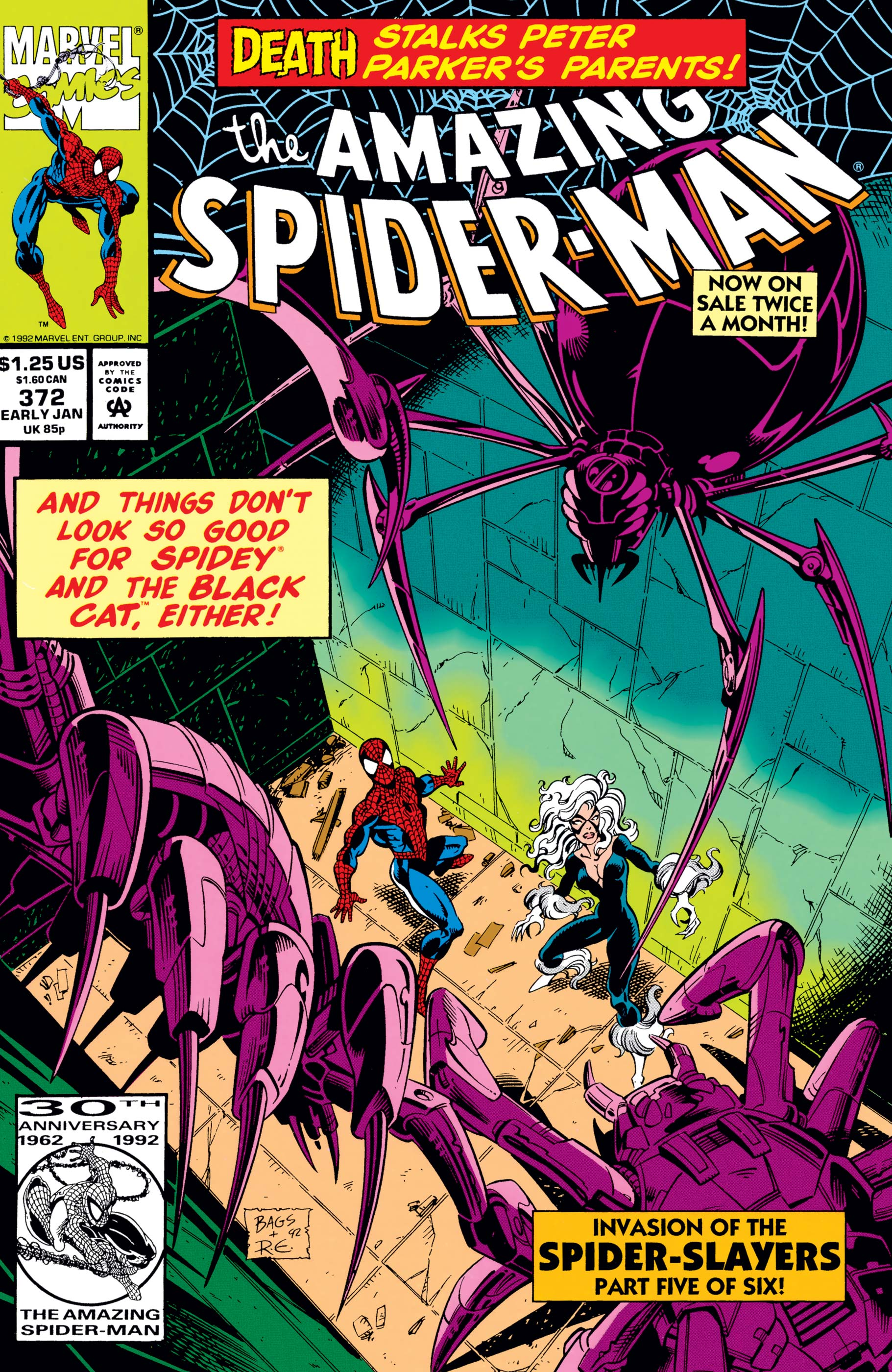 The Amazing Spider-Man (1963) #372
