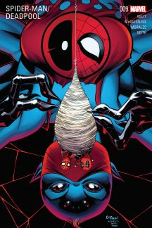 Image result for spider-man deadpool 9 cover
