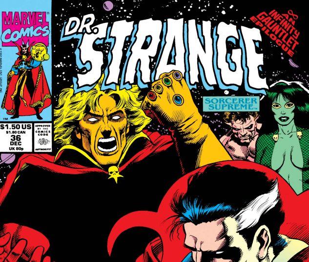 Doctor Strange, Sorcerer Supreme (1988) #36