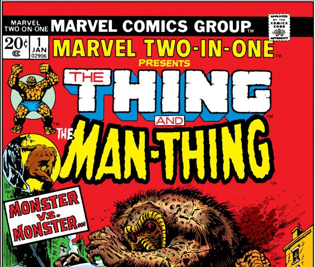 MARVEL TWO-IN-ONE (1974) #1