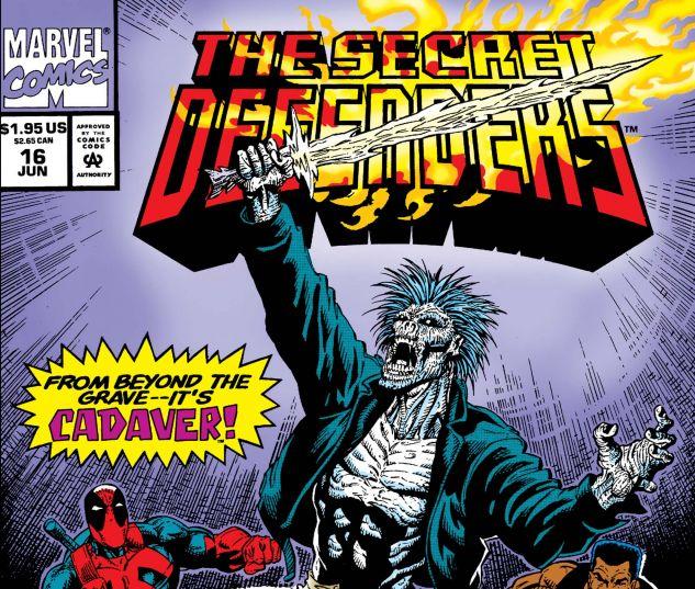 Secret Defenders (1993) #16