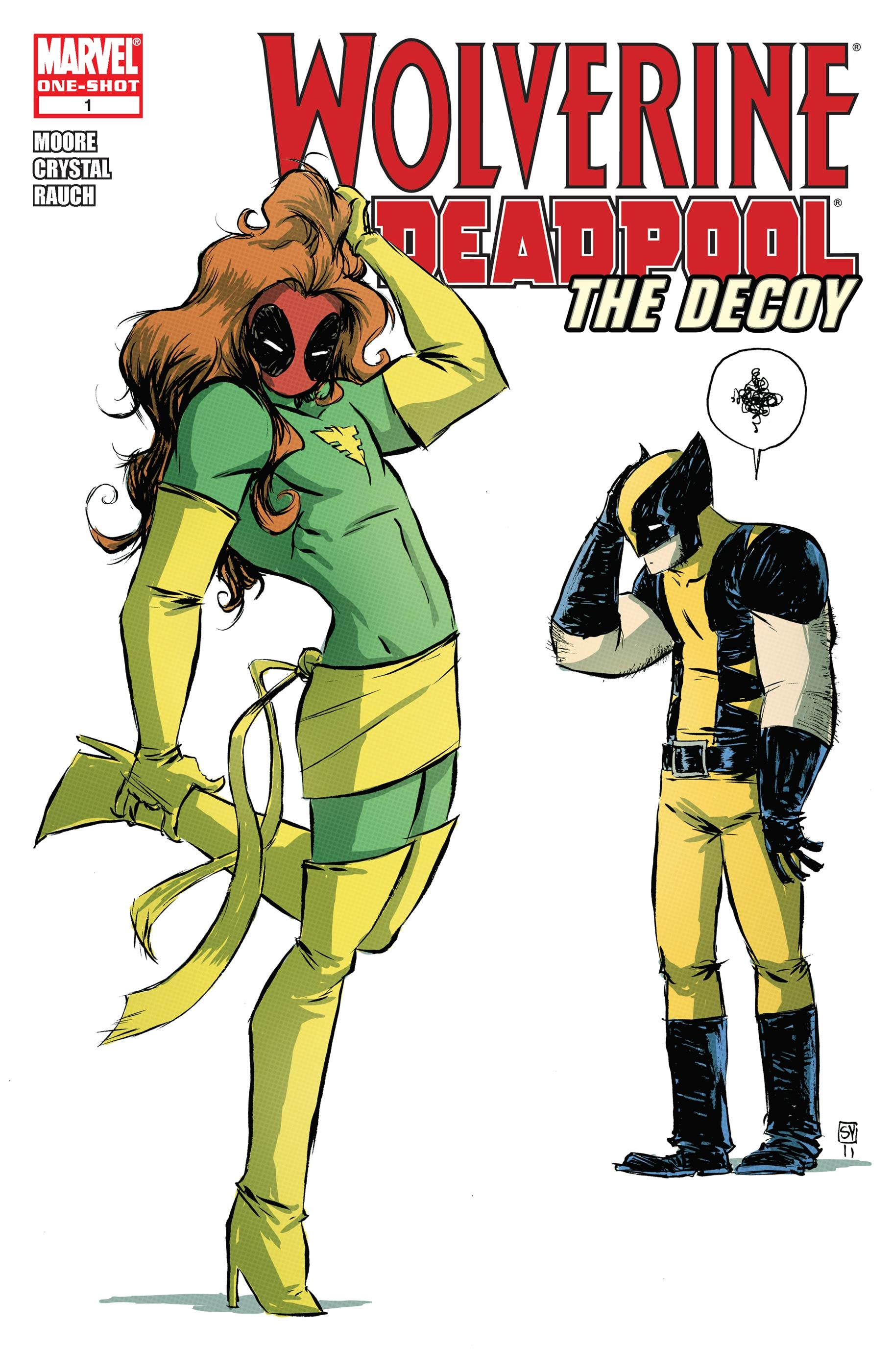 Wolverine/Deadpool: The Decoy (2010) #1